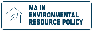 MA in Environmental Resource Policy
