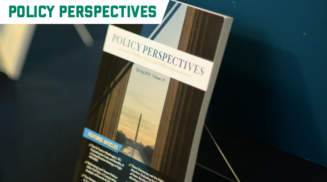 The Policy Perspectives student-run journal